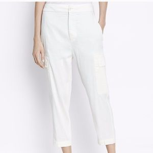 NWT Vince linen stretch pants trousers cargo small